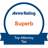 Avvo Rating - Top Attorney Tax