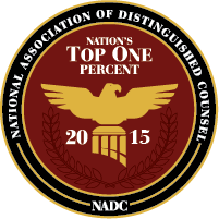 Nation's Top One Percent 2015 Badge